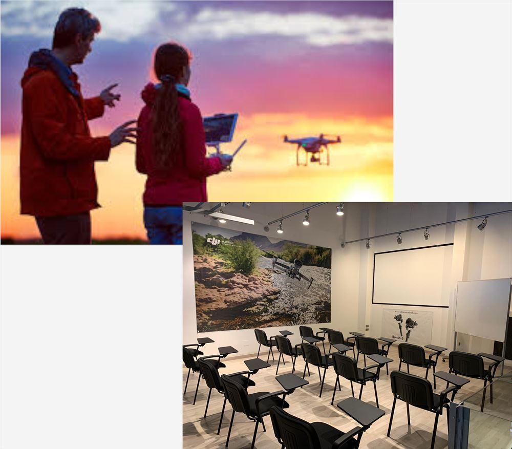 Curso Avanzado Piloto Profesional RPA/Dron 0-5 Kg. Modalidad semi presencial