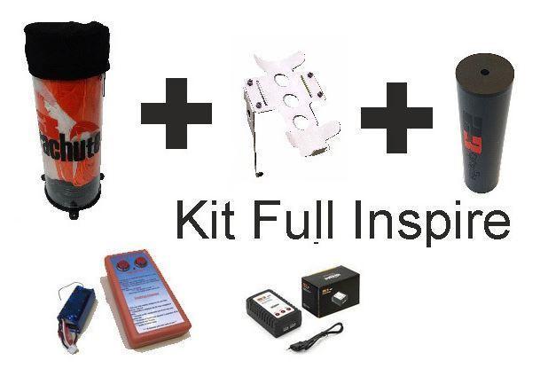 Kit Completo Paracaidas s3 parachute para Inspire 1