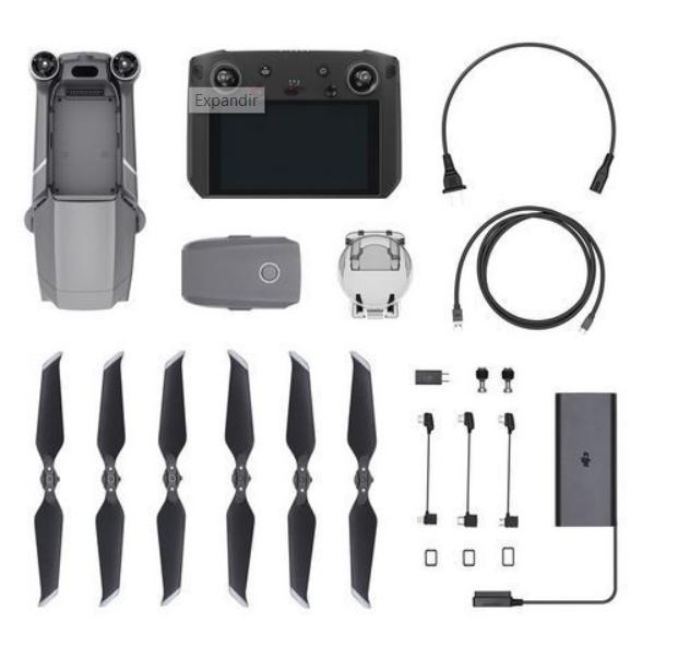 Mavic 2 Pro Con DJI Smart Controller + batería extra