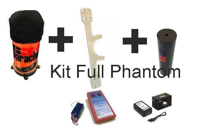 Phantom 3 y 2 kit de paracaidas completo